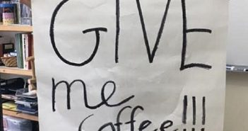 Coffee Should Be Served At San Luis Obispo High School