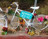 Ghost Bike Honors Cyclist