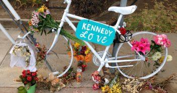 Ghost Bike Honors Cyclist