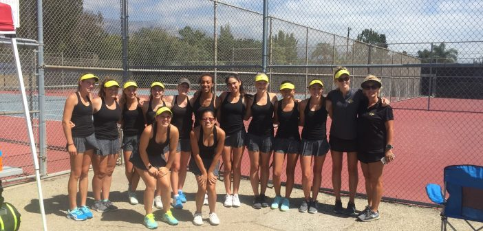 Varsity Girls Tennis Season: A Smashing Success