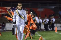 Drum Major Christian Cueto