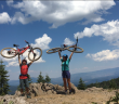 SLOHS Mountain Bikers Embrace Nature