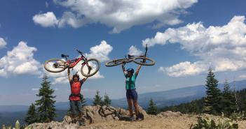 SLOHS Mountain Bikers Embrace Nature