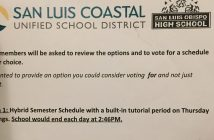 Voting on Trimester vs. Semester Schedule