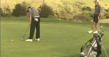 Junior Jeffrey Perry Talks Golf